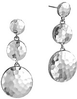 John Hardy Palu Sterling Silver Triple Drop Linear Earrings