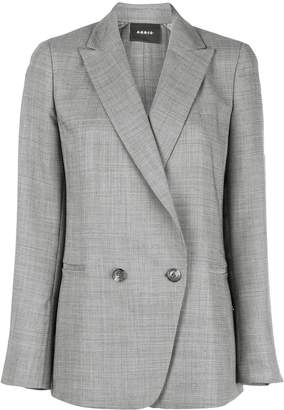 Akris double breasted blazer
