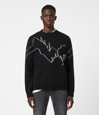 AllSaints Mount Saints Crew Sweater