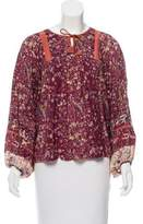 Ulla Johnson Oversize Silk Top