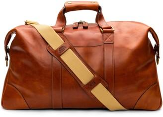 Bosca Leather Duffle Bag