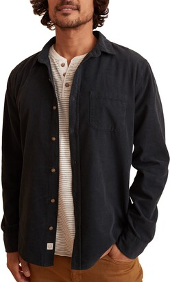 Marine Layer Denrock Button-Up Corduroy Shirt