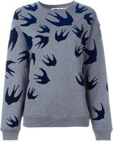 McQ by Alexander McQueen 'Swallow' sweatshirt - women - Cotton/Polyester - XXS
