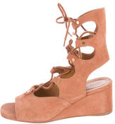 Chloé Foster Wedge Sandals