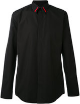 Givenchy star trim shirt - men - Cotton/Polyester - 38