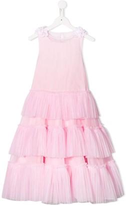 MonnaLisa Layered Sheer Dress