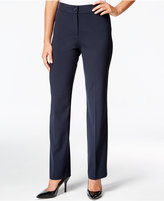 JM Collection Straight-Leg Welt Pocket Pants, Only at Macy's