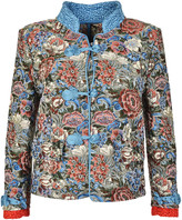 Ermanno Scervino Tapestry Jacquard Blazer