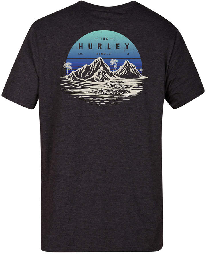 Hurley Men's Sun Is Down Logo-Print T-Shirt