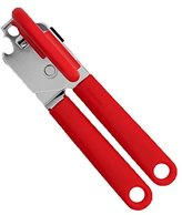 Brabantia Can Opener with Plastic Handle - Red