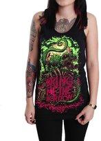 Rockstar Bring Me the Horizon Dinosaur Women's Tank Top T-shirt