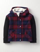Boden Check Coat