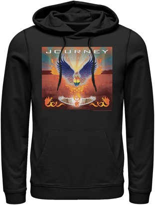 Licensed Character Men's Journey Revelation Album Cover Pullover Hoodie