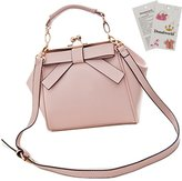 Donalworld Woen Retro Hollow out PU Leather Shoulder Handbag