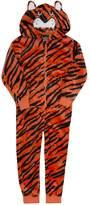 ONEZEE Boys Hooded Fancy Dress Animal Tiger Onesie