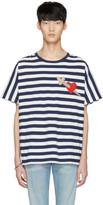Gucci Navy Heart and Arrow T-shirt