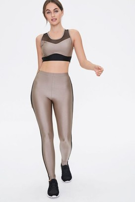Forever 21 Active Crop Top Leggings Set