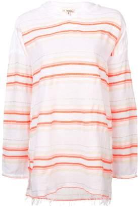Lemlem Fiesta stripe hooded blouse