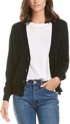 Burberry Vintage Check Wool Cardigan