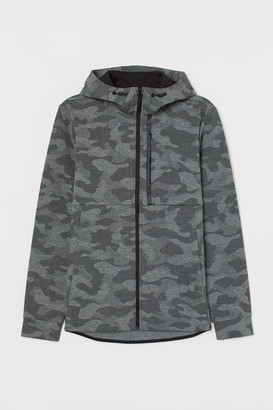H&M Sporty Hooded Jacket - Gray