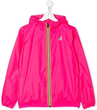 K Way Kids TEEN zipped hooded jacket