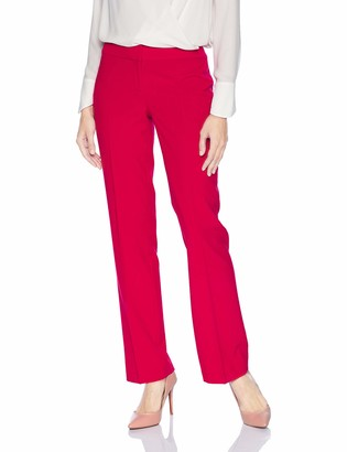 Nine West Women's Solid Stretch Pant