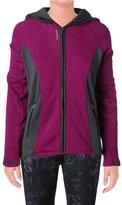 Reebok Womens Trailblazer Hooded Slim Athletic Jacket Purple S