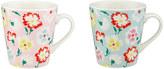 Cath Kidston Pansy Set of 2 Mini Stanley Mugs