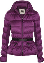 Burberry Quilted ruched shell coat