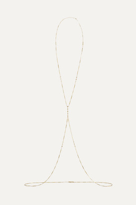 Jacquie Aiche 14-karat Gold Diamond Body Chain