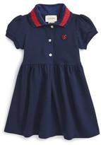 Gucci Infant Girl's Stripe Collar Dress