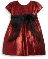 Isabel Garreton Baby's Sparkle Bow Velvet Dress