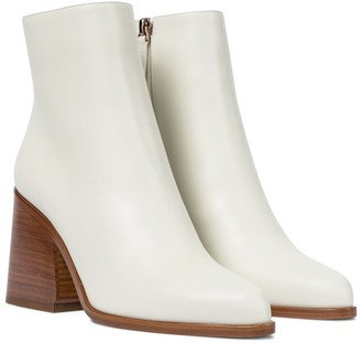 Gabriela Hearst Ava leather ankle boots