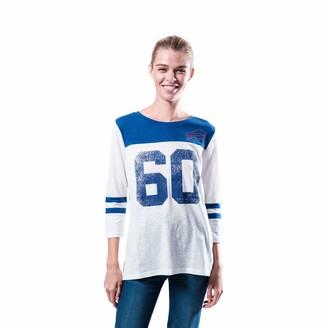 Icer Brands Women's T Vintage 3/4 Long Sleeve Tee Shirt