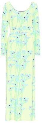 BERNADETTE Charlotte stretch-jersey maxi dress