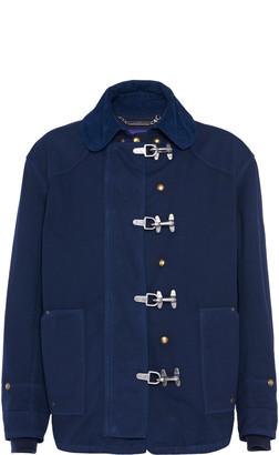 Ralph Lauren Purple Label Whitton Cotton Canvas Military Jacket
