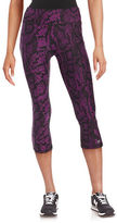 Betsey Johnson Printed Cropped Leggings