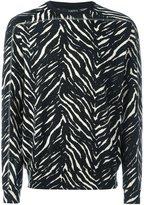 Tom Rebl 'Zebra' slim-fit sweatshirt