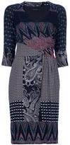 Etro Drape Printed Dress