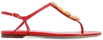 Valentino 10mm Maison Leather Sandals