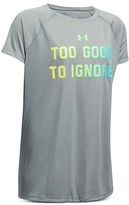 Under Armour Girls' Too Good to Ignore Tee - Big Kid