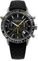 Raymond Weil Freelancer Stainless Steel Leather Strap Watch