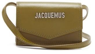 Jacquemus Azur D-ring Leather Mini Bag - Dark Khaki