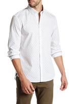 Kenneth Cole New York Long Sleeve Slim Fit Printed Shirt