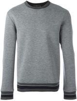 Plac striped sportive sweatshirt