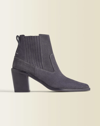 Jigsaw Adrienne Suede Ankle Boot