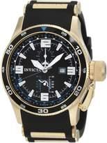 Invicta Men's 1758 Aviator Flight GMT Dial Polyurethane Watch