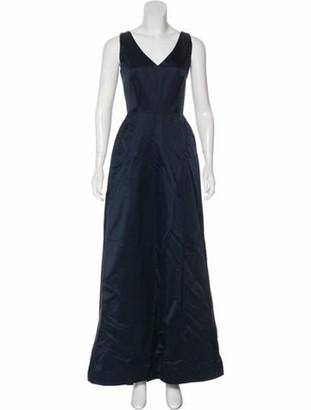 Catherine Regehr Sleeveless V-Neck Gown