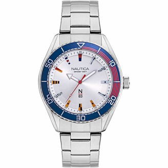 Nautica Men's Quartz Stainless Steel Strap