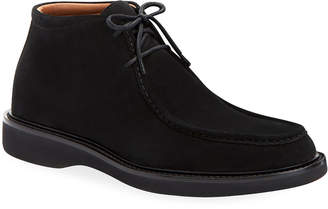 Aquatalia Men's Kyle Suede Lace-Up Chukka Boots